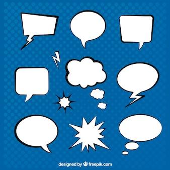 対話音声バブルコレクション