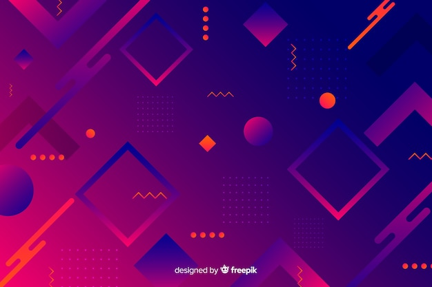 Diamond abstract shapes geometric background