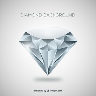 Алмазный фон в плоском дизайне