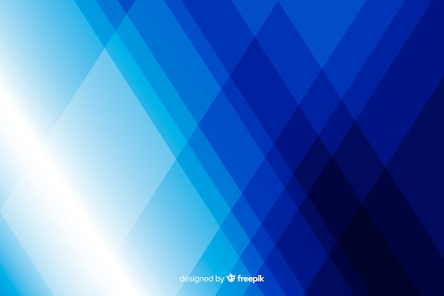 Diamond blue shapes background
