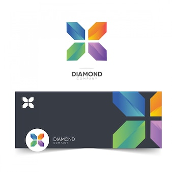 Diamond company logo