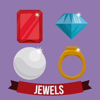 Diamond design.