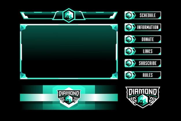 Алмазная игровая панель