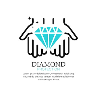 Diamond icon. brilliant. jewelry store. vector on isolated white background. eps 10.