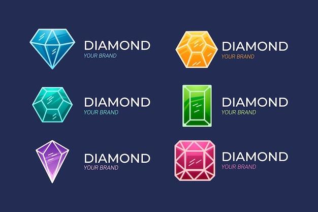 다이아몬드 로고 컬렉션