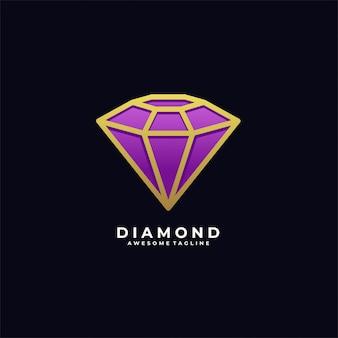 Diamond luxury illustration   logo.