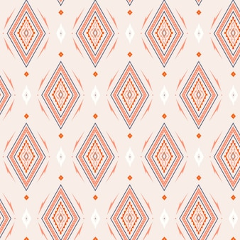 Diamond shapes of songket seamless pattern template