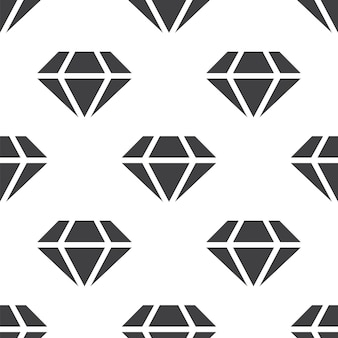 Diamond, vector seamless pattern, editable can be used for web page backgrounds, pattern fills