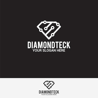 Логотип diamond технология