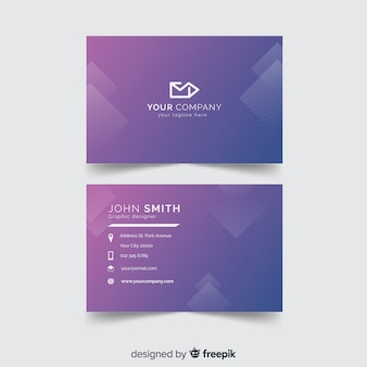 Diamonds business card template