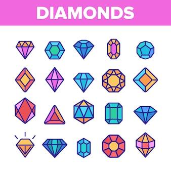 Diamonds, gems