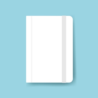 Diary cover design mockup