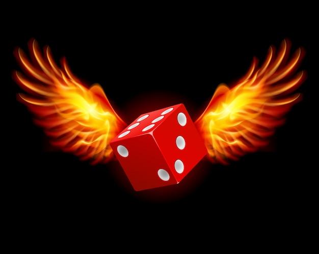 Dice-fiery wings