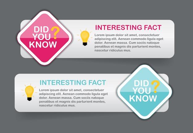 Знаете ли вы, что интересный факт набор наклеек.