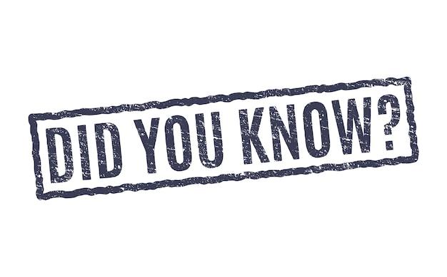 切手事実をご存知でしたか。興味深いベクタースタンプサインの質問をご存知でしたか。
