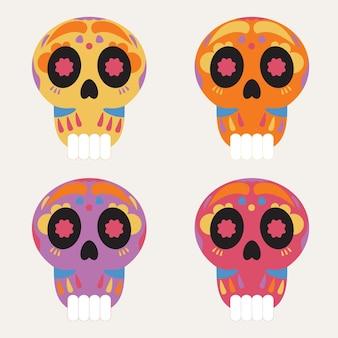 Набор иконок die de muertos