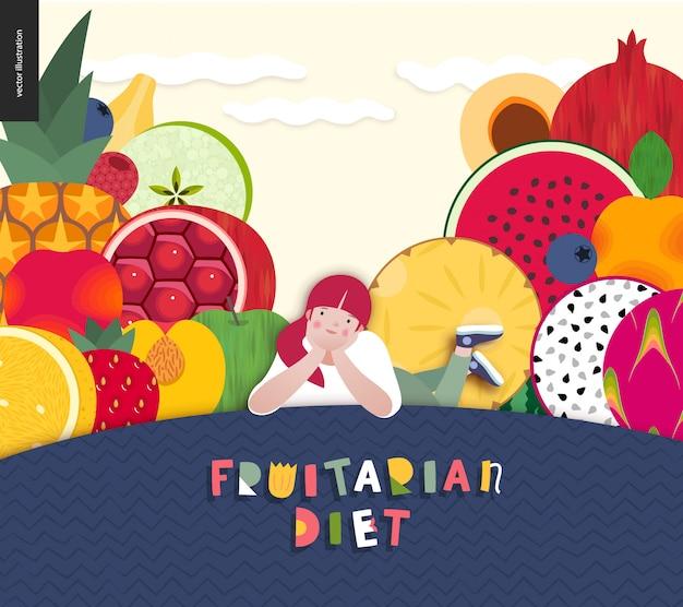 Diet food composition