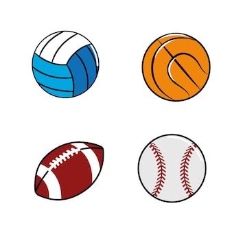 色diferentsはボールのアイコンを果たします