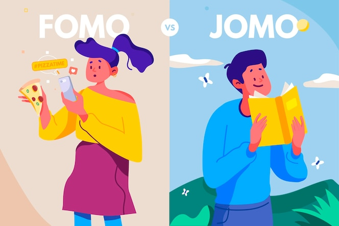 The difference between fomo and jomo