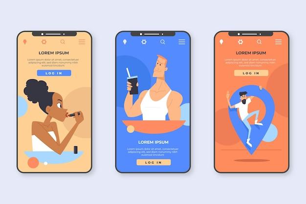 다양한 앱 인터페이스 개념