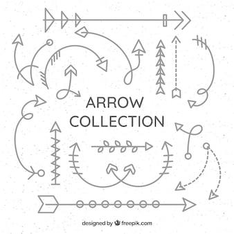 マークする別の矢印のコレクション