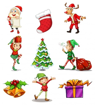 Different christmas designs