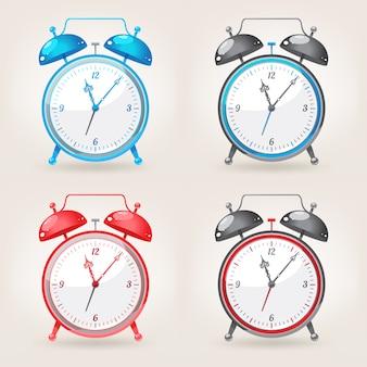Different colors alarm clock