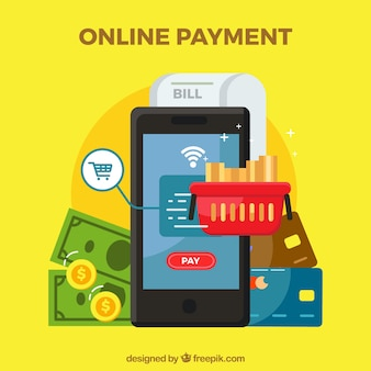 Different elements about e-payment