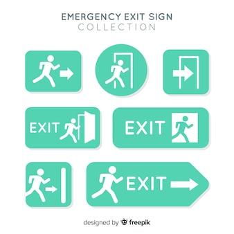 Различные знаки выхода