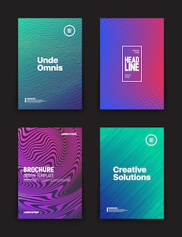 Different flyer design templates