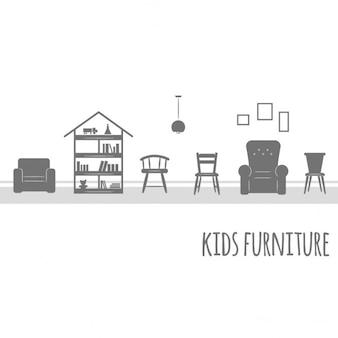 異なる家具