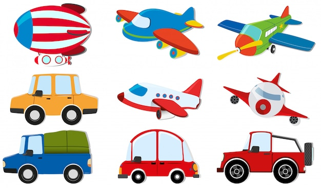 Разные виды перевозок