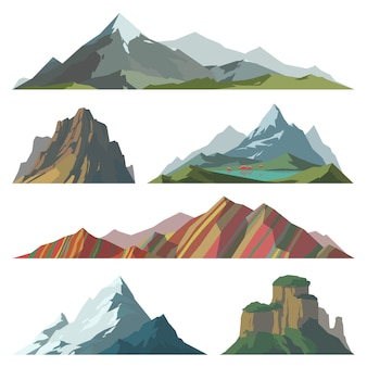 Different mountain