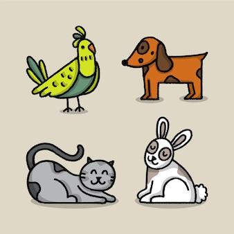 다른 애완 동물 개념