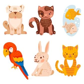 Различные иллюстрации животных