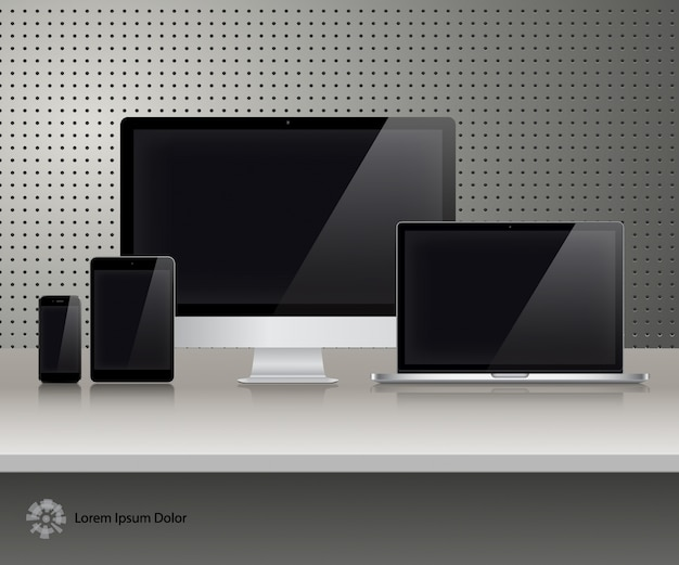 Different screen collection