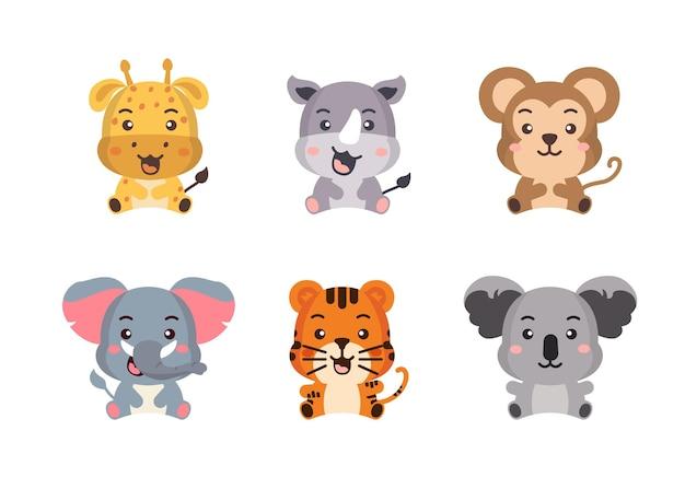 野生動物の異なるスタイル