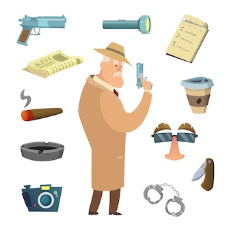 Different tools for detective