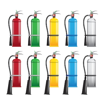 Different types of extinguishers