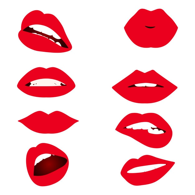 red lips booth clip art new clipart