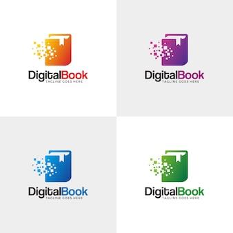 Digital book logo.