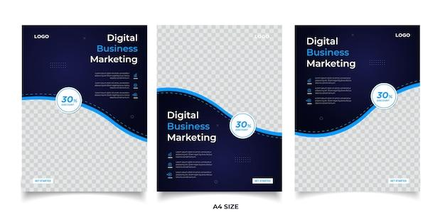 デジタルビジネスマーケティングバナー