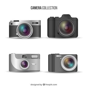 Collezione di fotocamere digitali