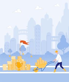 Digital cash miner, зарабатывая деньги своим ремеслом