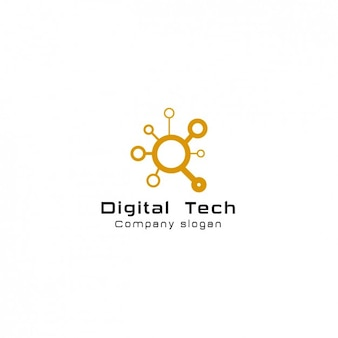 Digital comany logo template