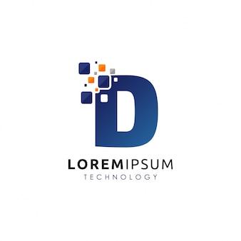 Логотип цифровых букв d