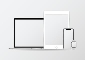デジタル機器モックアップセット
