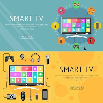Digital devices connected to smart tv
