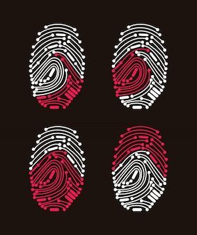 Digital fingerprint access denied