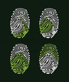 Digital fingerprint access granted
